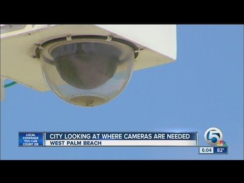 West Palm Beach security cameras