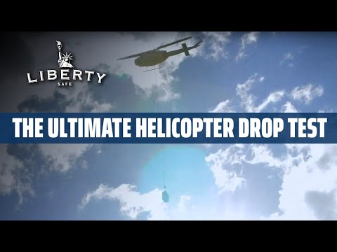 500' Helicopter Drop Test, Plus Explosives!