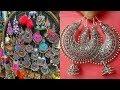Silver loop earrings design ideas/Earrings for Kurta/Boho Indian earrings design ideas For Diwali