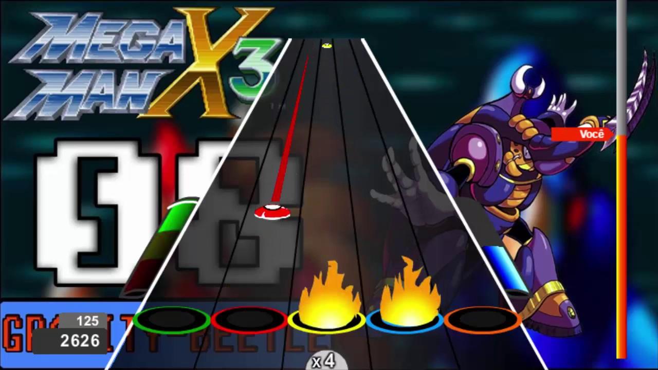 Megaman X3 OST Gravity Beetle Expert Chart Preview