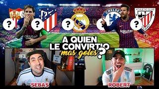 A QUIEN LE CONVIRTIÓ MAS GOLES MESSI? con ROBERT PG