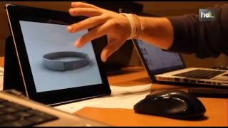 HDL Universitarios malagueños crean la primera pulsera inteligente que interactúa con el móvil