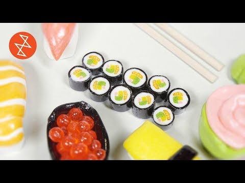 How To Make Candy Sushi Rolls | Où Se Trouve: CandyLabs