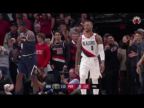 Portland Trail Blazers vs Denver Nuggets - Full Game Highlights - November 30 2018