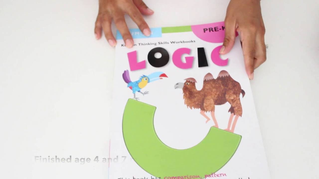 Workbooks prek workbooks : KUMON PRE-K & UP LOGIC - YouTube