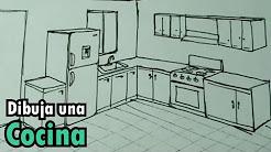 Dibujo Plano Cocina Youtube