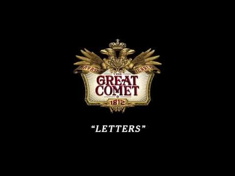 The Great Comet of 1812 -Letters