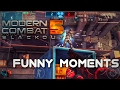 watch he video of Modern Combat 5 'FUNNY MOMENTS' (Trolling Noobs,Epic kills,Dating with morph) !!!
