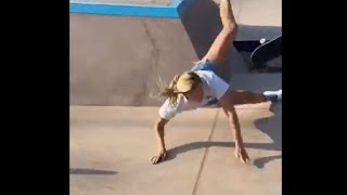 Compilation Of Skateboarding Fails And Falls In Many Skateparks