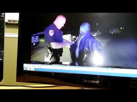 Abilene Texas police officer Cory Davis using excess use of force on 34year old Hispanic male