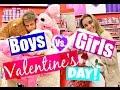 Valentine's Day: BOYS VS. GIRLS!