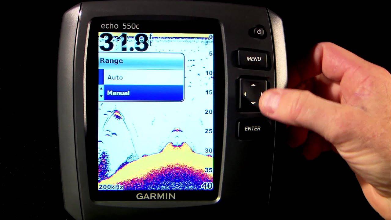 small resolution of garmin echo series basic settings