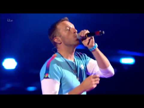 Coldplay feat The Chainsmokers live at the Brits 2017 HD - Something Just Like This