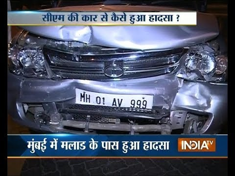 Prithviraj Chavan's car hits another car in Mumbai