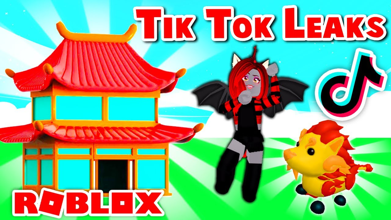Adopt Me CHINESE NEW YEARS LEAKS From Tik Tok! (Roblox)