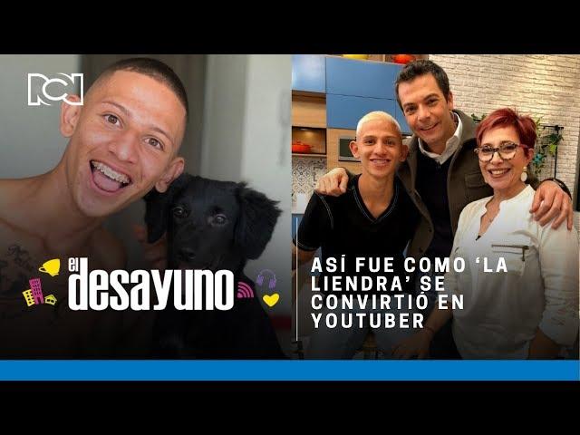 Así fue como Mauricio Gómez, 'La Liendra', se convirtió en un reconocido Youtuber | El Desayuno