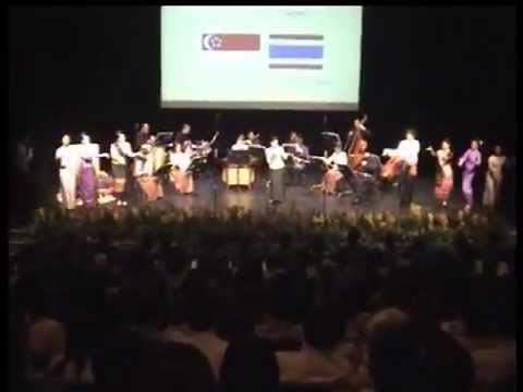 Performances in Singapore for HRH Princess Maha Chakri Sirindhorn of Thailand