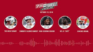SPEAK FOR YOURSELF Audio Podcast (10.15.18) with Marcellus Wiley Jason Whitlock | SPEAK FOR YOURSELF