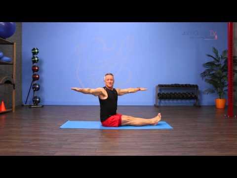 Pilates Mat Spine Twist