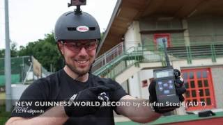 Fastest bicycle wheelie over 100 m - GUINNESS WORLD RECORDS