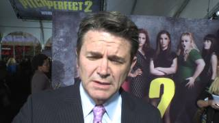 Pitch Perfect 2: John Michael Higgins Red Carpet Movie Premiere Interview