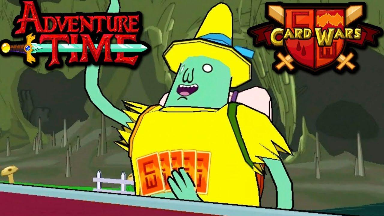 Card Wars Adventure Time Magic Man Tournament Gem