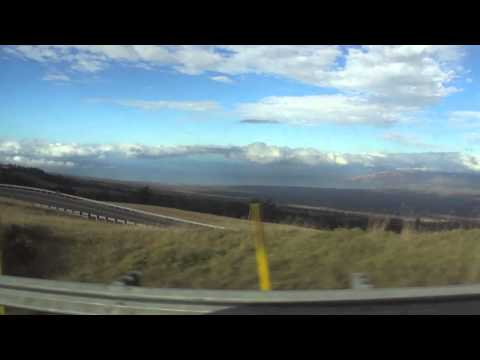 Drive Back to the Westin From Haleakala National Park