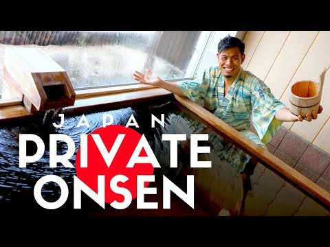 Private Japanese Hot Spring Hotel | Tokyo Day Trip | How to