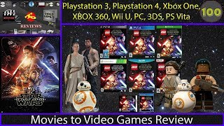 Movies to Video Games Review -  Lego Star Wars : The Force Awakens (Console and Portable)