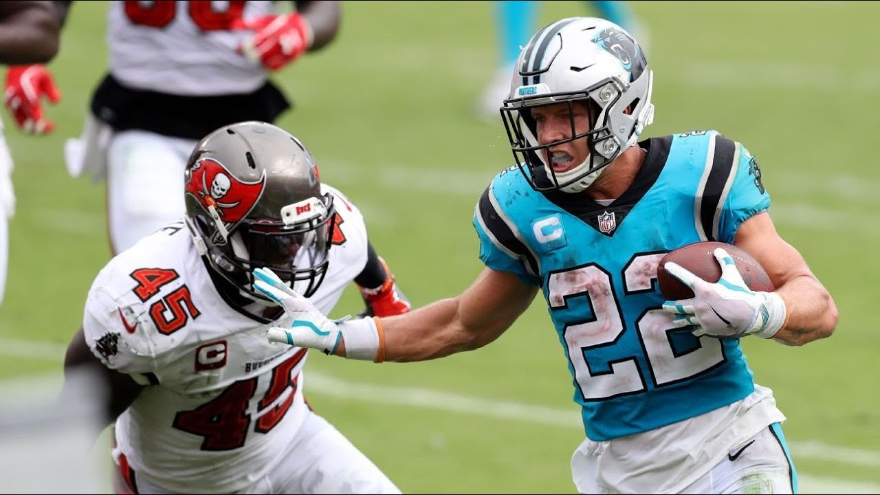Christian McCaffrey sidelined by ankle injury
