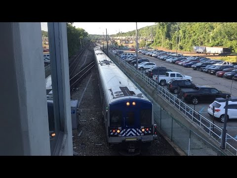 Metro-North Railroad HD 60 FPS: Harlem Line Trains (M7A, P32AC-DM, BL20GH) @ Southeast 7/16/15