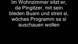 Wolfgang Ambros - Familie Pingitzer (Lyrics)