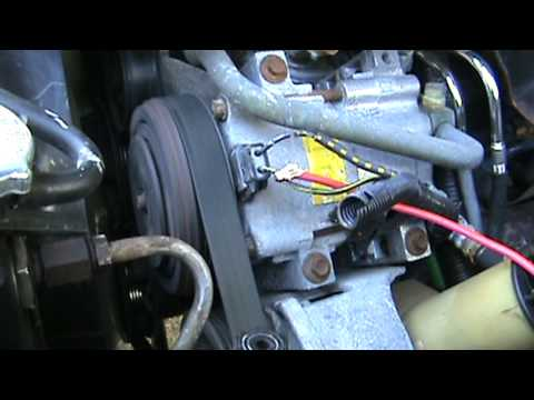 2006 Ford Mustang Ac Wiring Diagram Auto A C Compressor 1994 Mazda B3000 Youtube
