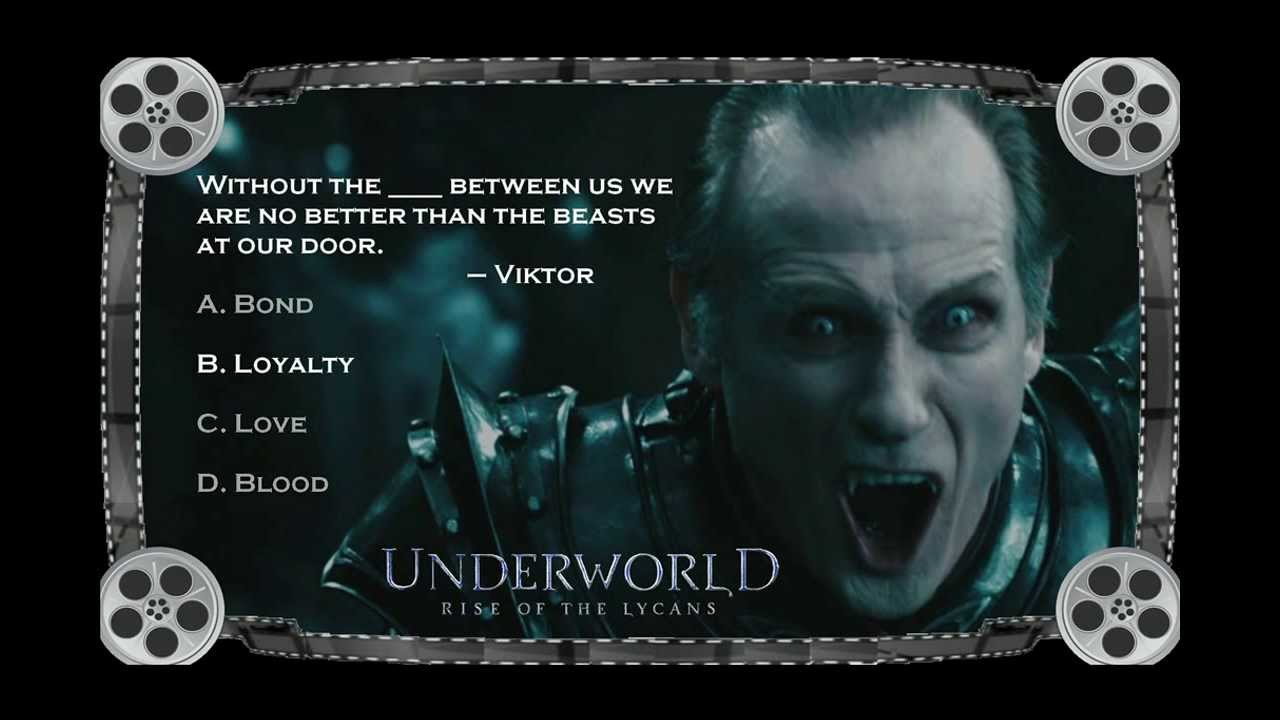 unerworld rise of the lycans trivia slides sample movie youtube