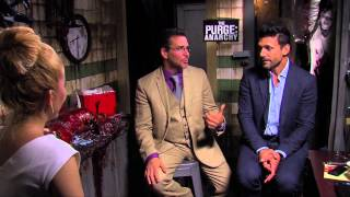 """The Purge: Anarchy"" Interview With Frank Grillo & James DeMonaco"