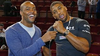 ANTHONY JOSHUA: Born to be the BOSS, I'm SCARFACE! vs Deontay Wilder