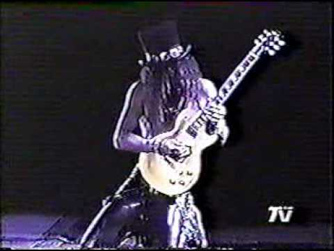 guns n' roses slash guitar solo chile '92