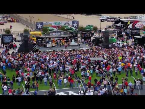 Jake Owens RIng of Fire at Texas Motor Speedway 6Nov2016