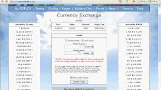 How to use trade currency on ROBLOX