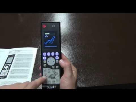 Osaki OS-4000 CS / LS Remote Functions
