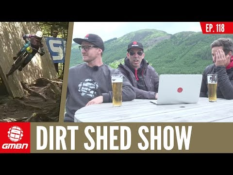 Should E-Bikes Be Charged More Money To Ride At Trail Centres? | Dirt Shed Show Episode 118