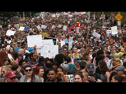 Massive Counter Protests Overwhelm Boston