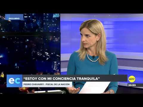 """Pedro Chávarry: Mi hijo """"no tuvo a nadie que lo recomiende' en el CNM"""