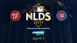 Rizzo's clutch hit lifts Cubs to Game 3 win: 10/9/17