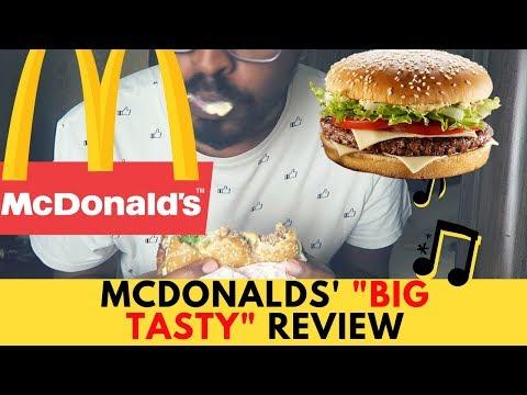 تجربة بيج تيستي من ماكدونالدز | MCDONALD'S BIG TASTY REVIEW