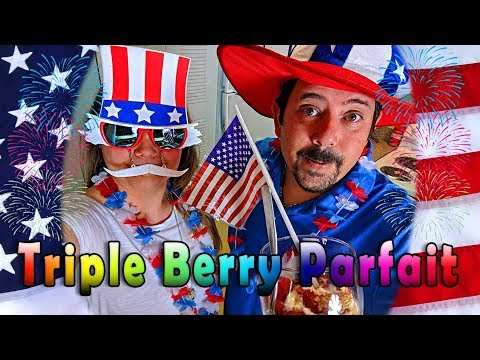 Organic Triple Berry Parfait - Easy Healthy Snack Ideas for Kids