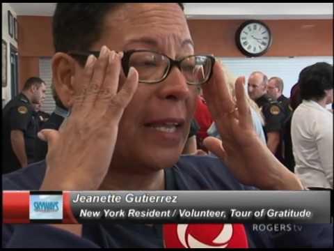 Skyways - New York delegates tell Gander their stories of 9/11