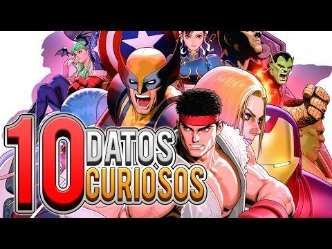10 DATOS CURIOSOS SOBRE MARVEL VS CAPCOM
