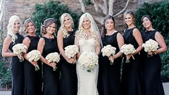 Gorgeous Black Bridesmaids dresses