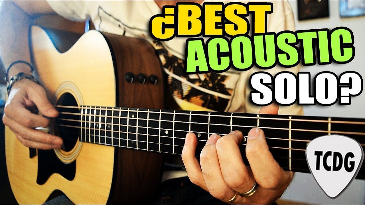 Best Acoustic Guitar Solo In Rock History Guess The Song YouTube - Musical history guitar solo
